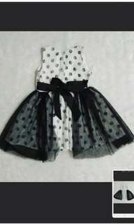 Korean Dress 2t Birthday Event Formal Casual Dress 18m 2t 12-24m