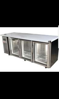Taiwan 3door display counter chiller