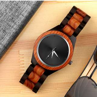 Top Luxury Wood Wrist Watch Unique Wood Watches Fashion Full Wooden Men's Watch Men Watch Wooden Clock saat reloj hombre relogio