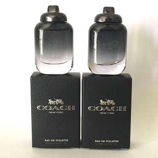Coach New York for man mini perfume
