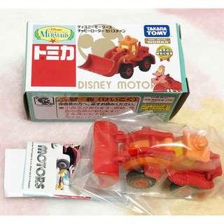 日本版 - Tomy Tomica x Disney motors Ariel Sebastian 迪士尼人物合金車仔 小魚仙 塞巴斯丁
