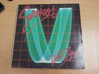 Survivor Vital Signs Vinyl LP Original Pressing Rare