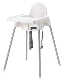 Ikea Baby High Chair with table