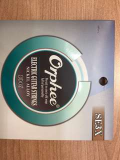 Electric Guitar Strings Size 10