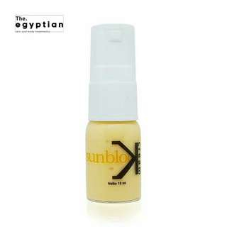 Egyptian sunblock cream whitening