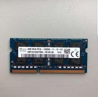 DDR3 Laptop Ram 4GB