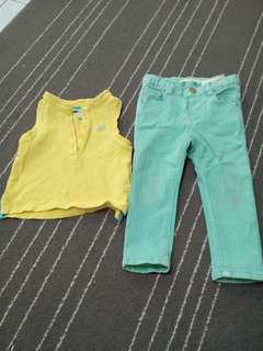 Zara Jeans n Poney top