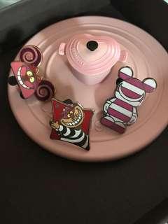 妙妙貓 Alice Disney pin 襟章