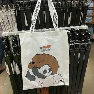 Totebag We Bare Bears (Miniso)