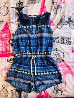 Summer Romper Shorts Outfit