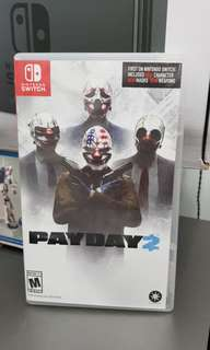 Nintendo Switch Games PayDay 2
