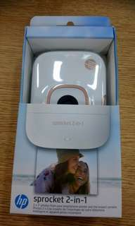New HP Sprocket 2in1, Brand new