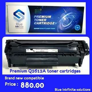 Premium Q2612A toner cartridges