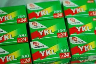 Expired 35mm Film: Fuji YKL 100 24 shots