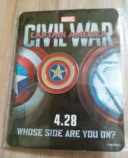 美國隊長 胸針 Captain America pin (全限九龍灣地鐵站交收)