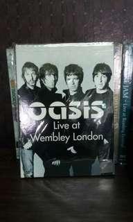 Dvd oasis live at wembley