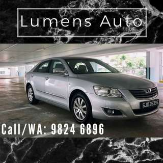 Toyota Camry - Car Rental for Grab/Uber/Personal use! Long term/Short term Long term/Short term