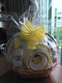 Bumble bee baby gift hamper