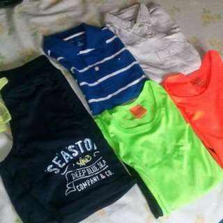 Rush Sale!!🆕bundle Clothes For 5-7 years Old
