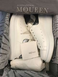 ALEXANDRE MCQUEEN SNEAKERS with box and reciept