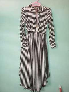 Tunik Stripe Bahan Kaos Adem Melar