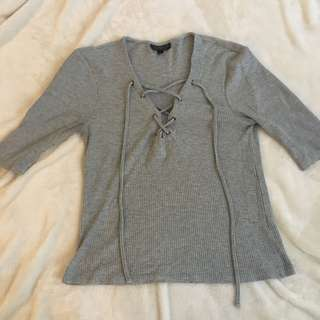 Topshop loose blouse