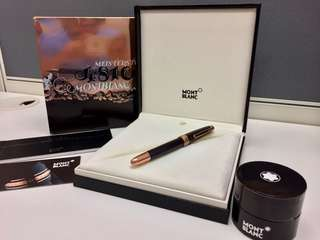 Montblanc Meisterstück 90 Years Solitaire Special Edition Classique Fountain Pen (Made in Germany) 萬寶龍大師傑作(大班)90週年系列德國製特別版經典鋼筆墨水筆