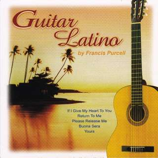 FRANCIS PURCELL Guitar Latino CD