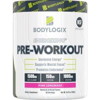 🔥NEW Bodylogix Energizing Pre-Workout 30 servings