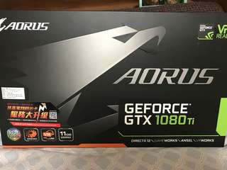 AORUS GeForce GTX 1080 Ti 11G 顯示卡