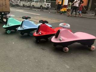 Pre Order Twisting car Php 1050 Music/ ilaw / gulong may ilaw / pwd hilahen ks may tali / 100 kilo kaya 4color red blue green pink #sywg