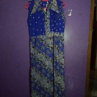 Long dress batik