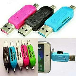 2in1 USB OTG SD Card Reader