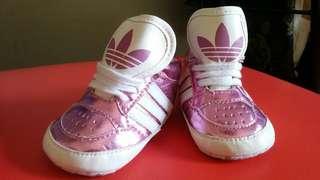 preLOVED adidas highcut for baby girl