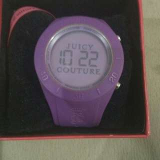 Jam tangan rubber juicy couture authen