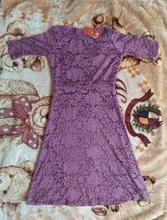 Purple Lacy Dress