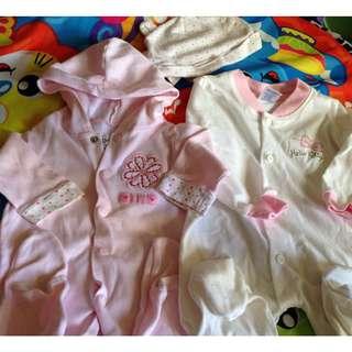 SALE! Cute Pink Onesies for Newborn / Baby Girl