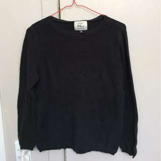 Soft black jumper