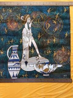 纸本重彩 59x59cm Chinese painting