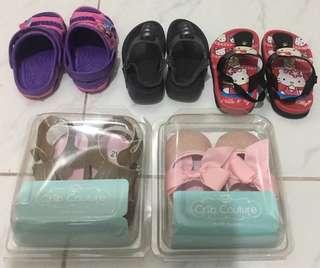 Bundle of 5 Baby Girl Shoe & Sandals