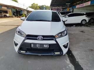 Toyota Yaris TRD at 2016 putih KM 26rb asli
