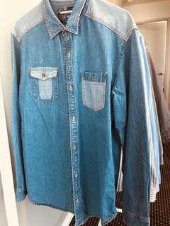 Billabong denim shirt