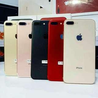 Ready Apple Iphone 7 Plus 256GB New Original BNIB Black Market