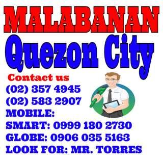 Malabanan Siphoning Quezon city Services 023574945