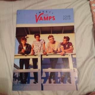 the vamps 2015 tour program
