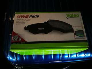 Valeo Peugeot 508 Front Brake Pads (Made in Spain)