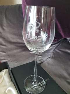 NUSS 60 years souvenir wine glass