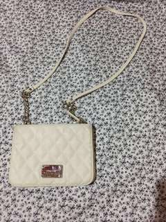 Nine West White Sling Bag