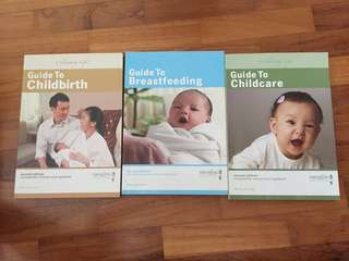 Childbirth, breastfeeding, childcare guidebooks