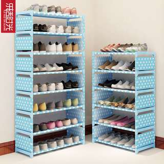 Dust Cloth Shoes Simple Shoe Rack Assembly Multi-Storey 3/4/8 Layer